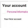 Flickr删除了Facebook和Google登录选项
