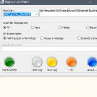 Windows注册表实时监视